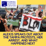 Alexis Speaks Out: Arrested at a Protest