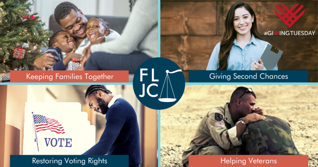 Giving Tuesday - Florida Justice Center - List of Services