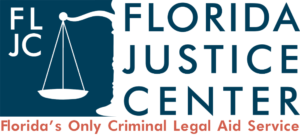 Florida Justice Center - Florida's Only Criminal Legal Aid Service Logo