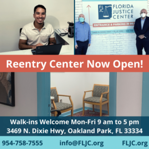 Reentry Center Opening Graphic