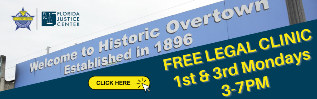 Historic Overtown Legal Clinic - Social Share
