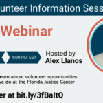 Volunteer Information Session: May 26, 2021 at 1pm