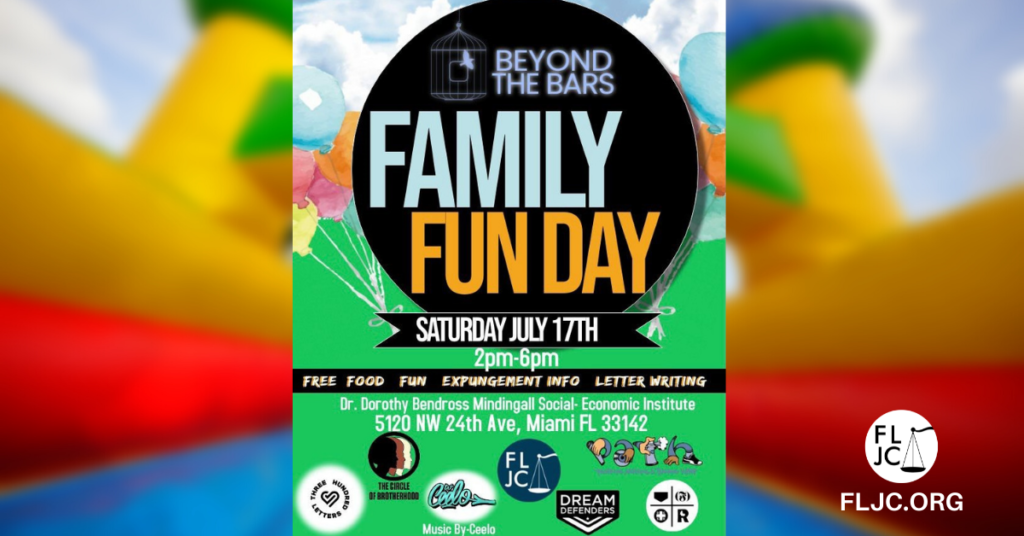 Beyond the Bars Family Fun Day - Social Share