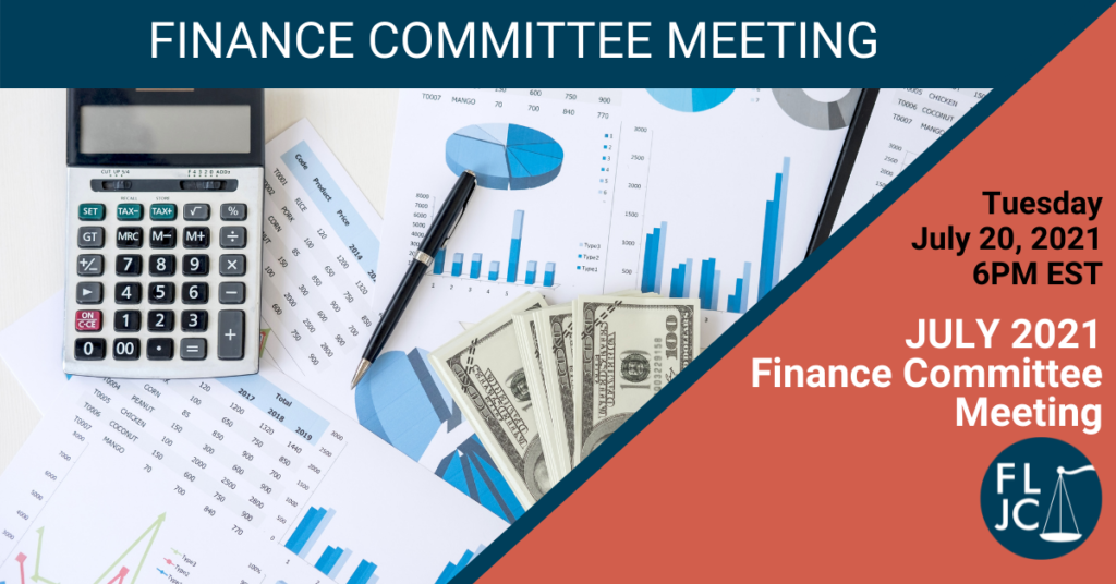 Finance Committee - July 2021 - Social Share