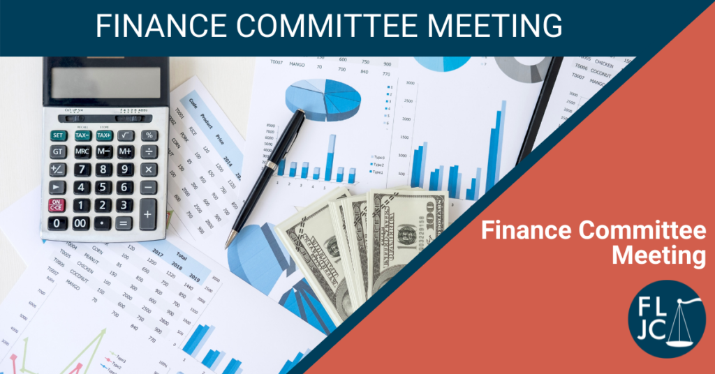 Finance Committee Meeting - Social Share